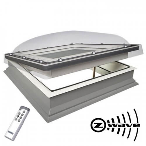 Fakro electric flat roof window