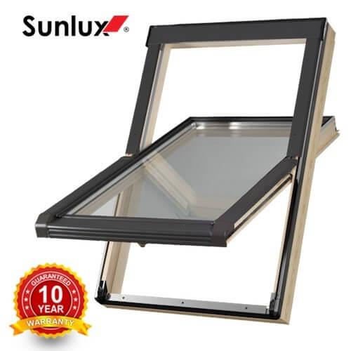 Sunlux pivot roof window